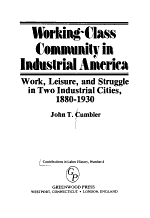 Working-class Community in Industrial America