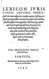 Iuris civilis Lexicon