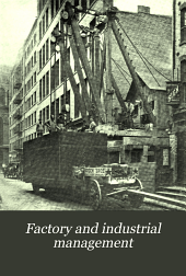 Factory and Industrial Management: Volume 13