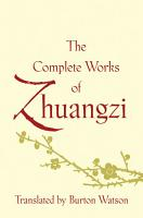The Complete Works of Zhuangzi PDF