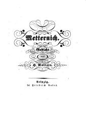 Metternich. Gedicht