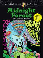 Creative Haven Midnight Forest Coloring Book PDF
