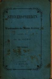 Stuivers-preeken van woordvoerders der Nieuwe richting: Volume 5