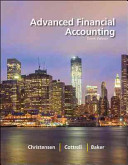 Loose Leaf Advanced Financial Accounting with Connect Access Card PDF