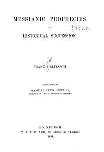 Messianic Prophecies in Historical Succession PDF