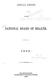 Annual Report of the National Board of Health