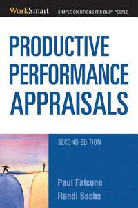 Productive Performance Appraisals PDF