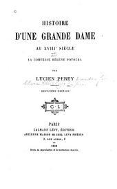 Histoire d'une grande dame au XVIIIe siècle: Volume2
