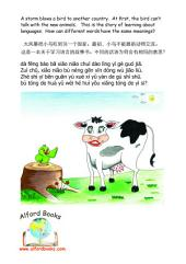 不同的话语 bù tóng de huà yǔ Different Words English / Simplified Mandarin / Pinyin: -相同的意思 - xiāng tóng de yì si - Same Meaning