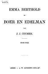 Emma Berthold en Boer en edelman