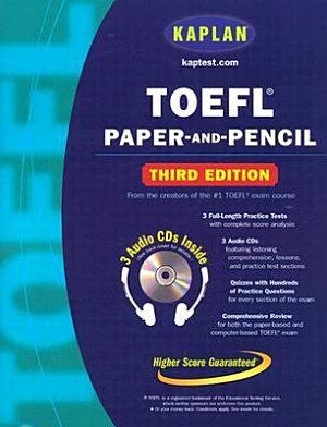 TOEFL Paper and Pencil PDF
