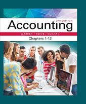 Accounting, Chapters 1-13: Edition 27