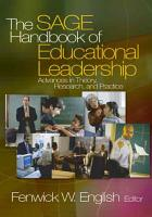 The SAGE Handbook of Educational Leadership PDF