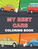 My Best Cars Coloring Book