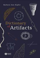 Dictionary of Artifacts PDF