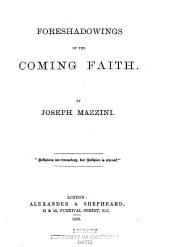 Foreshadowings of the Coming Faith