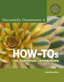 Macromedia Dreamweaver 8 How tos PDF