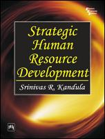 STRATEGIC HUMAN RESOURCE DEVELOPMENT PDF