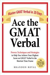 Ace The Gmat Verbal Book PDF