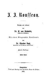 J. J. Rousseau: Bände 1-2