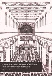 Vorschule zum studium der Kirchlichen kunst des deutschen mittelalters