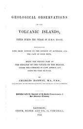 Geology of the Voyage of the Beagle, Under the Command of Capt. Fitzroy, R.N. During the Years 1832 to 1836: II
