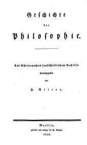 Friedrich Schleiermacher's sämmtliche werke: Teil 1;Teil 3