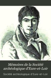 Mémoires de la Société archéologique d'Eure-et-Loir: Volume6