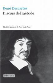 Discurs del mètode: Edició i traducció de Pere Lluís Font