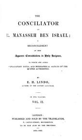 The Conciliator of R. Manasseh Ben Israel: The prophets and hagiography