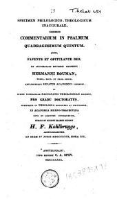 Commentarium in psalmum quadragesimum quintum: quod, favente et opitulante deo, ...