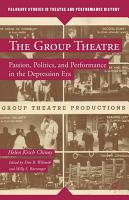 The Group Theatre PDF