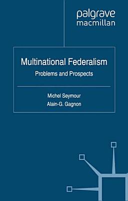 Multinational Federalism PDF