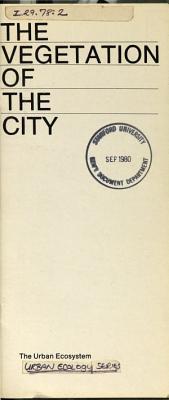 Urban Ecology Series
