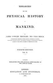 Researches Into the Physical History of Mankind: Volume 2