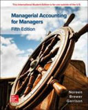 ISE Managerial Accounting for Managers
