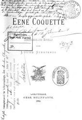 Eene coquette: oorspronkelijke novelle