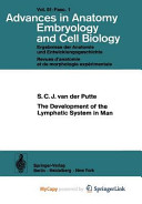The Development of the Lymphatic System in Man