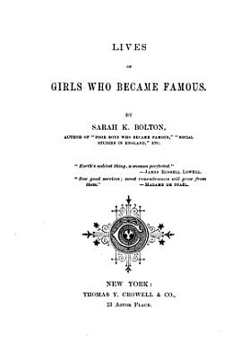 Lives of Girls who Became Famous PDF