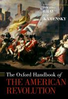 The Oxford Handbook of the American Revolution PDF