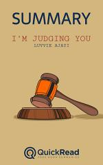 I'm Judging You by Luvvie Ajayi (Summary)