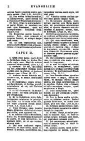 Biblia Sacra Vulgatae Editionis: juxta exemplaria ex typographia Apostolica Vaticana Romae 1592 & 1593 inter se collata et ad normam correctionum Romanarum exacta auctoritate summi pontificis Pii IX.. Novum Testamentum. 4