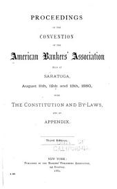 Proceedings of the ... Annual Convention of the American Bankers' Association: Volume 6