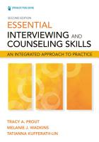 Essential Interviewing and Counseling Skills  Second Edition PDF