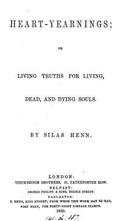 Heart yearnings  or Living truths for living  dead  and dying souls PDF