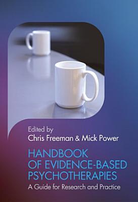 Handbook of Evidence based Psychotherapies