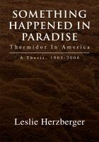 Something Happened in Paradise  Thermidor in America PDF
