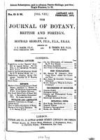 The Journal of Botany  British and Foreign PDF