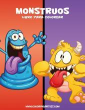 Monstruos libro para colorear 1