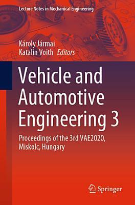 Vehicle and Automotive Engineering 3